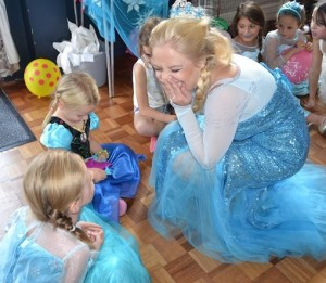 Elsa from Frozen Party