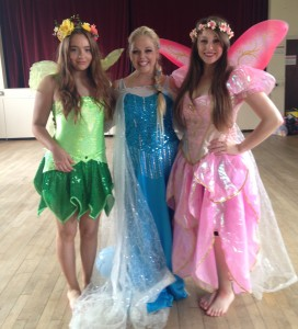 Fairies at a fairy party