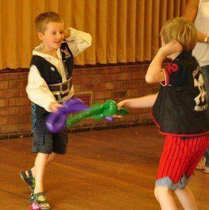 Balloon Sword Fight