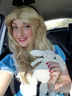 Emma as Alice In Wonderland