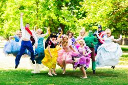 Princess parties in Cardiff, Bristol and South Wales