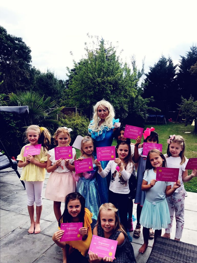 Samantah princess party