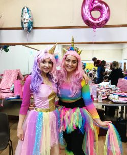 Samantha & Mary UNicorn